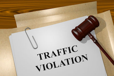 Information on All Type of Traffic Violations in New York - Cell Phone, Stop light,